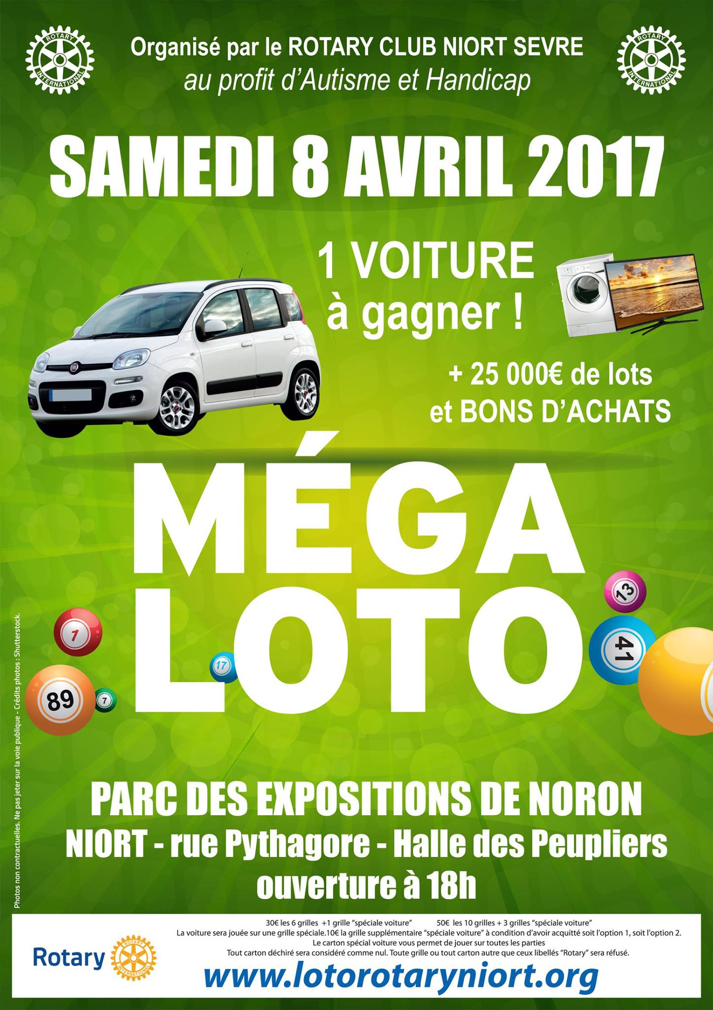 M ga loto sortir niort for Parc des expositions niort