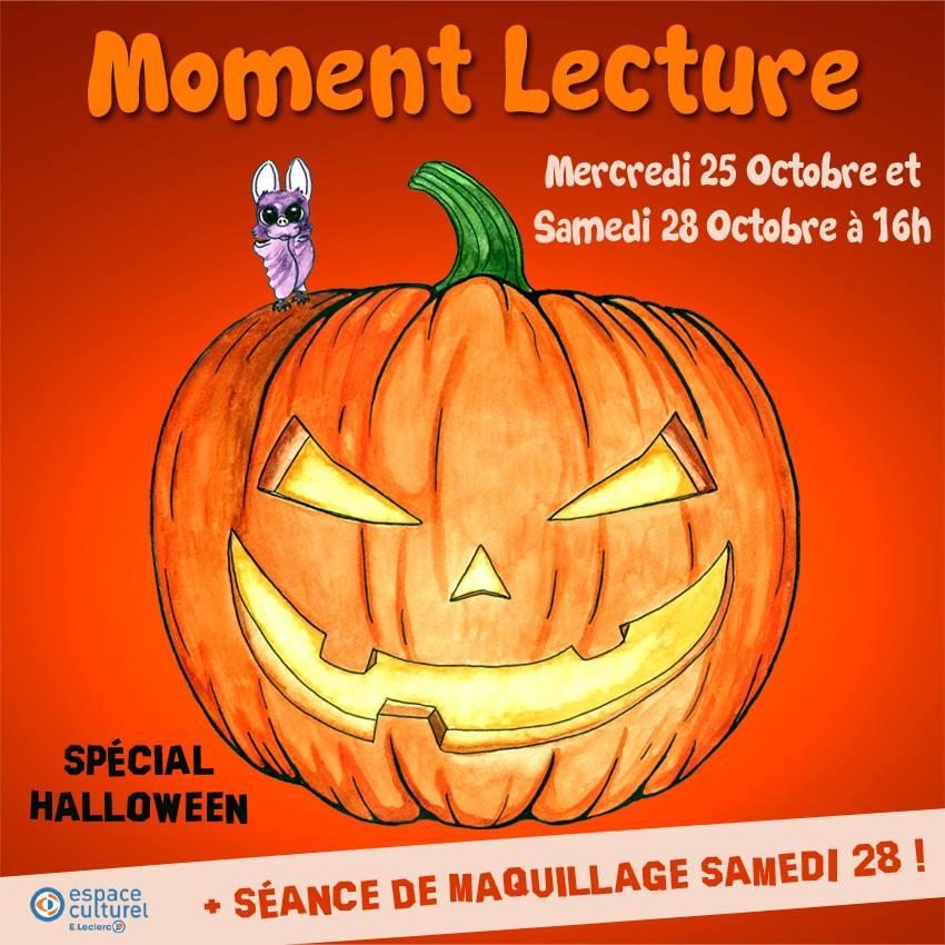Moment Lecture Pour Les Enfants Spécial Halloween Sortir à Niort