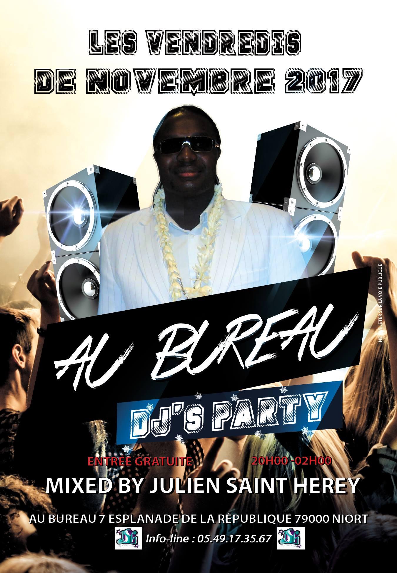 DJs Party Au Bureau Sortir Niort