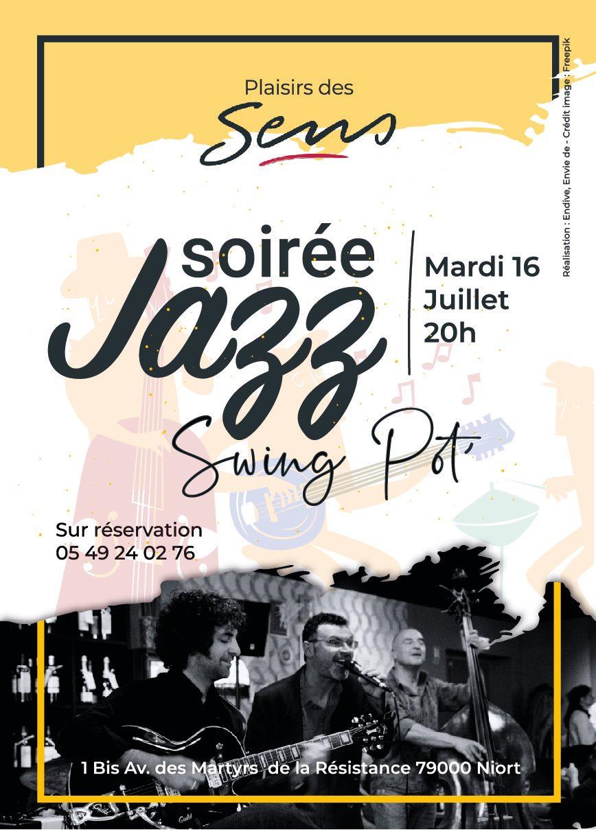 Restaurant Le Plaisir Des Sens Niort soirée jazz – sortir à niort